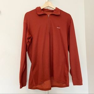 PATAGONIA Capilene 1/4 Zip Long Sleeve Top -Size L